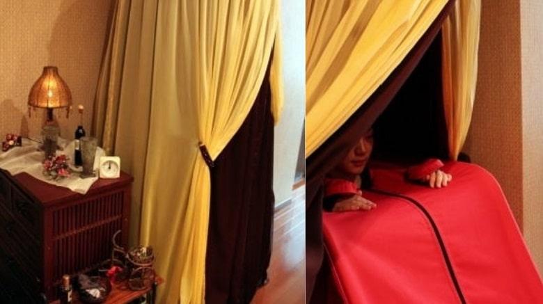 ハーブテントの写真/タイ古式沙羅